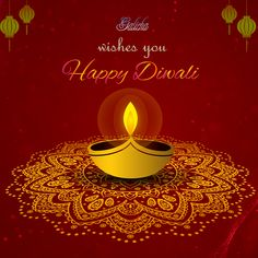 With Gleam of Diyas, And the Echo of the Chants, May Happiness and Contentment Fill Your life! Wishing you a very happy and prosperous Diwali!  #HappyDiwali