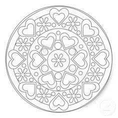 celtic heart mandala coloring pages | Coloring Pages For Kids