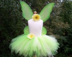Tinkerbell Fairy Halloween or Party Costume by baileysblossoms, $35.00