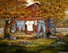 Country-laundry-time...