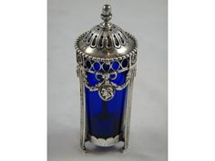 Catawiki online auction house: Antique Holland silver mustard jar