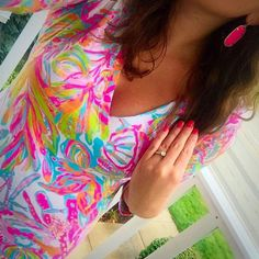 Lilly & Kendra go so well together  @kendrascott @lillypulitzer #lifeinlilly #lillypulitzer