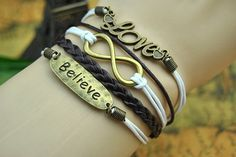 Vintage Bronze Cuff Bracelet Infinity by BeautifulShow on Etsy, $5.99 Fashion charm handmade personalized bracelet, the best gift.