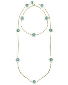 Terrill Long Necklace in Teal - Kendra Scott Jewelry. Coming soon!