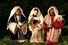 Biblische Erzählfiguren - Heilige 3 Könige FG 4  von GR-oßMama auf DaWanda.com