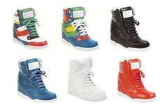 Marc Jacobs Calf Dorada Sneaker Wedge, $320.00 // #fashion #sneakers