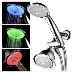 Led Combo Shower System - Chrome (Grey) - Luminex