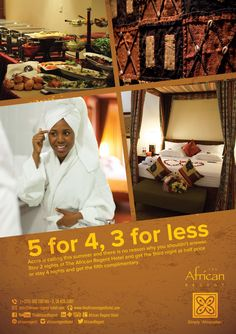 Our unbeatable and fantastic package is still on. Book now and experience an exciting weekend at The African Regent Hotel.  #luxury #hotel #accra #Ghana #summerpromotions.