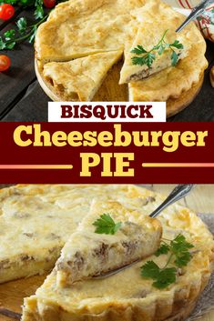 Whip up this Bisquick Cheeseburger Pie for an easy, satisfying recipe that the whole family will enjoy!