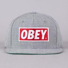 Obey Snapback - Standard! BrandKingz.com Vintage Baseball Caps 7461fbd093fa