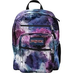 JanSport® Big Student Backpack in Swedish Blue Spray Can Print - jcpenney