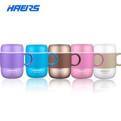Candy Color Thermos Stainless Steel Vacuum Flask Cup