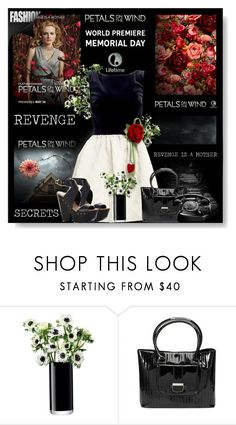 """""""Petals on the Wind"""" by dingonunnu ❤ liked on Polyvore featuring LSA International, RED Valentino, Ted Baker, BCBGMAXAZRIA and petalsonthewind"""