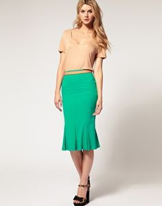 I already own a jade green pencil skirt...is it wrong to want a mermaid version?