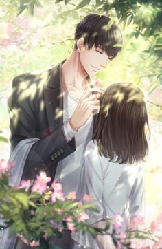 love and producer Romantic Anime Couples, Cute Anime Couples, Manga Couple, Anime Love Couple, Anime Couples Drawings, Anime Couples Manga, Anime Couple Romantique, Manga Romance, Anime Love Story
