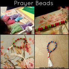 Home-made prayer beads