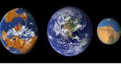 Vénus, la Terre et MarsVénus ressemble beaucoup à la Terre : c'est une planète…