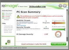 Reimage PC Repair 1.8.6.8 Seri Anahtar [Crack] Bedava İndir