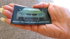 Quirky Lenticular business card