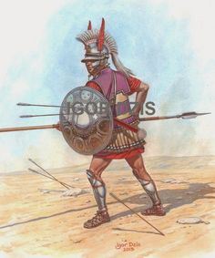 Ancient Rome, Ancient Greece, Ancient History, Greek Soldier, Punic Wars, Greek Warrior, Mycenaean, Alexander The Great, Historical Art