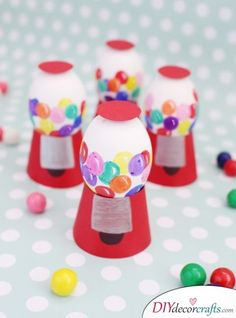 Small Gumball Machines - Eggcelent Eggs