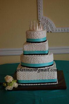 Quinceanera cake - buttercream icing