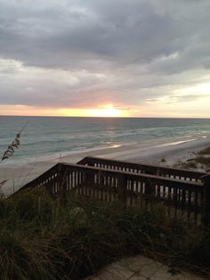 Evening view outside the Vue on 30A, an upscale eatery in Santa Rosa Beach