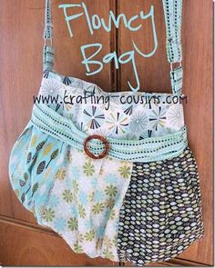 The flouncy bag is fun to make and looks great dressed up using your favorite…