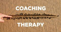 What is the difference between a life coach and a therapist?  #lifecoach #loveyourlife #thrive #mindbodysoul #light