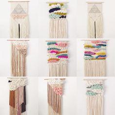 Weaving Wall Hanging, Wall Hangings, Macrame Art, Happy Friday, Knit Crochet, Ship, Knitting, Instagram Posts, Inspiration
