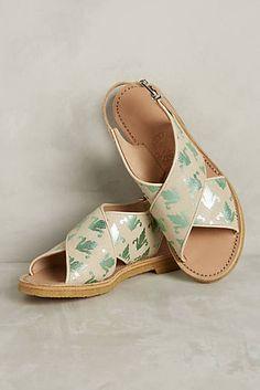 Penelope Chilvers Fleur De Lis Sandals