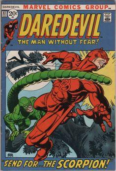 Daredevil #82, Send for The Scorpion, Marvel c.1971