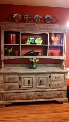 Refinished Hutch Id Love To Find Something Like This Second Hand And Refinish