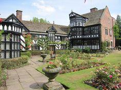 english manor house photos | ... low half timbered manor house of this beautiful Tudor English home