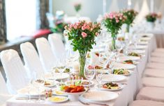 Wedding table setting #paid, , #AD, #Sponsored, #setting, #table, #Wedding Catering Menu, Catering Services, Wedding Catering, Party Food Packages, Planners, Wedding Table Settings, Setting Table, Table Wedding, Wedding Ideas