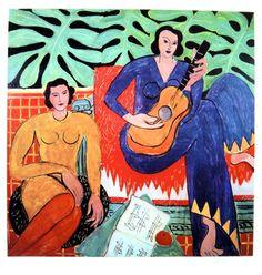 """Henri MATISSE, signed Heliolitho """"Deux Femmes"""" 1953"""