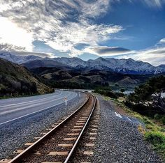 """1,102 Likes, 9 Comments - Christchurch & Canterbury NZ (@christchurchnz) on Instagram: """"By road, rail or sea, how will you be exploring Canterbury this winter? ☃️ 📷=…"""""""