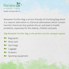 RenewAir Purifier Bag covers areas up to 50 square feet. Excellent for small spaces such as cars, closets, bathrooms, small office cabin, pet areas children area laundry rooms. Interior Ceiling Design, Gym Interior, Home Bar Essentials, Color Combinations Home, Home Office Closet, Portable Air Purifier, Homework Organization, Side Tables Bedroom, Desks For Small Spaces