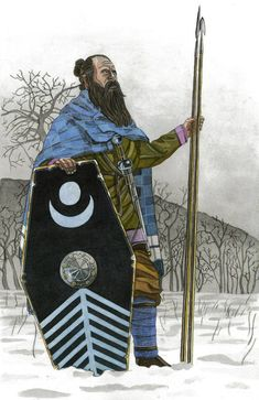 Marcomannic tribesman late century by AMELIANVS on DeviantArt The Elder Scrolls, Germanic Tribes, Celtic Warriors, Armadura Medieval, Fantasy Rpg, Kaiser, Dark Ages, Barbarian, Ancient Romans