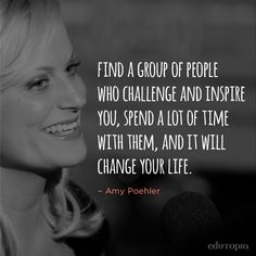 Amy Poehler and her @smrtgrls know the power of positive friendships.
