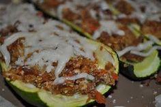 #Zucchini Boats #recipe #vegan #vegetarian