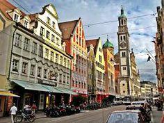The beautiful city of Augsburg