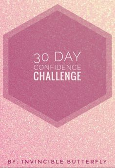 Having low self-esteem and self-confidence makes it impossible to be yourself. I remember a few years back how one of my main wishes was to gain my confidence back because I was losing sense of who… Happiness Challenge, Love Challenge, Self Confidence Tips, Confidence Building, Confidence Quotes, 30 Days From Now, How To Become Confident, Coach, Low Self Esteem