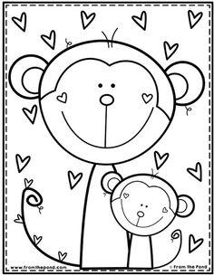 Coloring Club Library — From the Pond Free Coloring, Coloring Pages For Kids, Adult Coloring, Color Club, Coloring Book Pages, Coloring Sheets, Drawing For Kids, Art For Kids, Kindergarten Coloring Pages