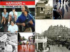 History of, changes in Harvard Square