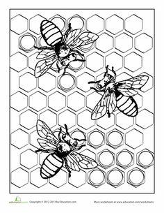Coloring Page Wasp Mandala