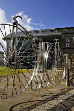 PENNY FARTHING STAINLESS STEEL GATE