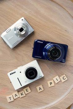 Leave cameras around your reception for your guests to capture their favorite moments!