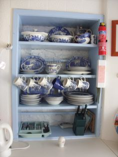 Old Blue and White china.