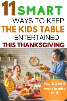 The Thanksgiving kids table is a staple in many homes on turkey day. Find the best ways to keep kids entertained on Thanksgiving. Have a stress free Thanksgiving with these easy to implement ideas. Keep the kids busy when you put up a delicious Thanksgiving meal. Make the Thanksgiving kids table one they will always remember. Thanksgiving Jokes, Thanksgiving Games For Adults, Hosting Thanksgiving, Thanksgiving Traditions, Thanksgiving Activities, Halloween Activities, Halloween Kids, Activities For Kids, Halloween 2019